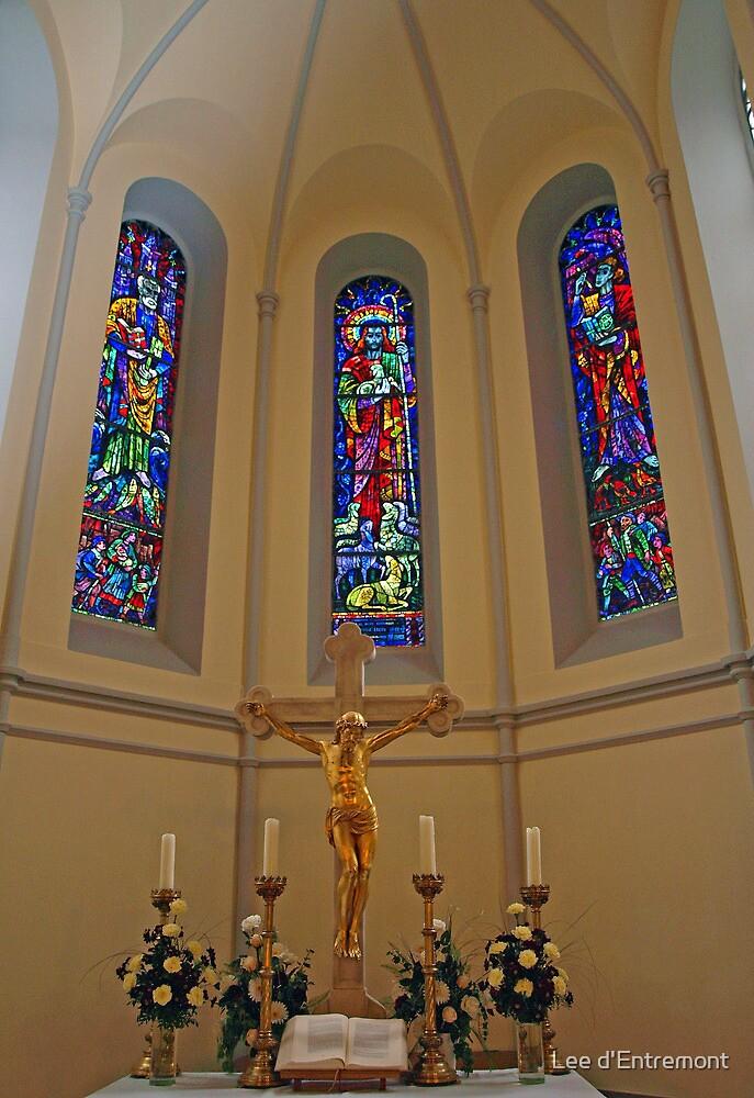 Crucifix. by Lee d'Entremont