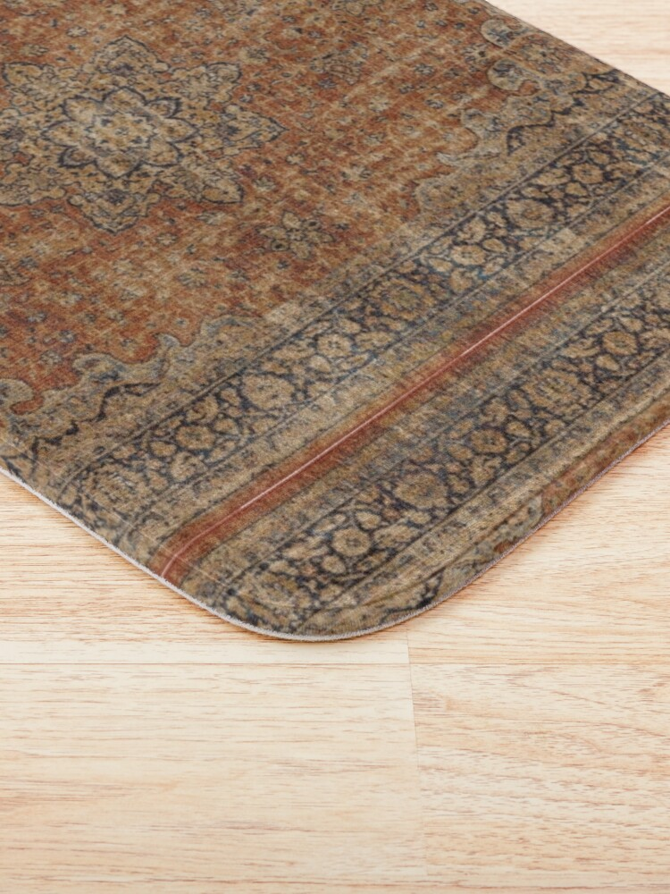Alternate view of Antique Orian rug Bath Mat