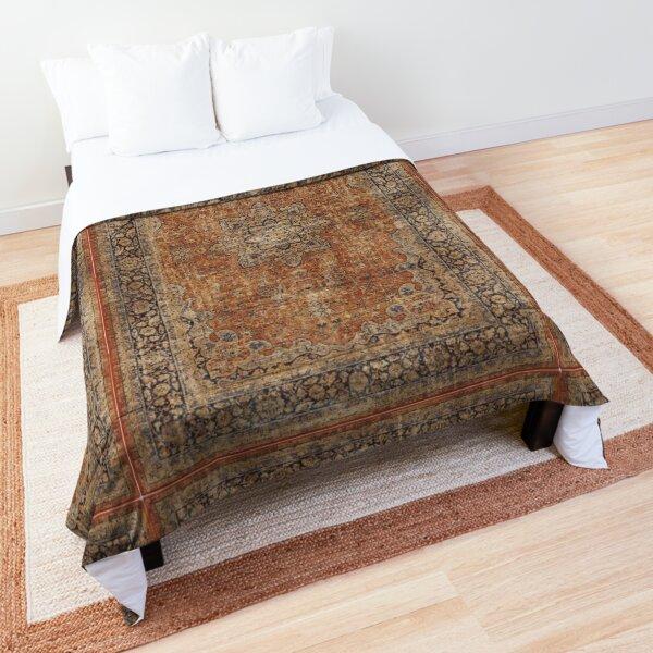 Antique Orian rug Comforter