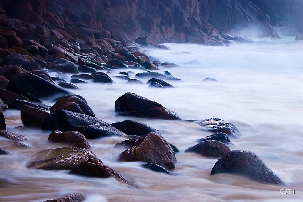 Rocks on the beach by CJTill
