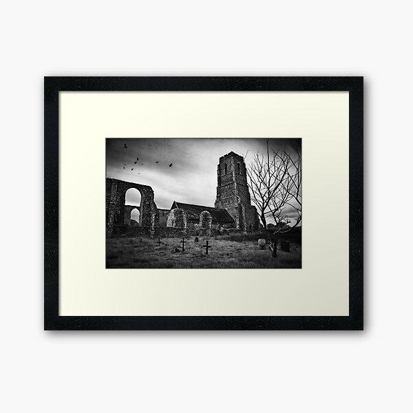 Covehithe Church, Suffolk Framed Art Print