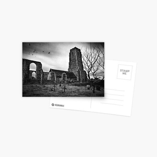 Covehithe Church, Suffolk Postcard