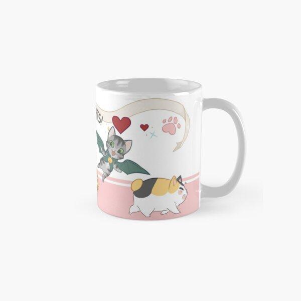 FFXIV Cats!   Pink Classic Mug