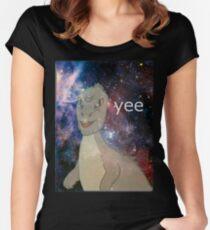 Cosmic Yee Women's Fitted Scoop T-Shirt