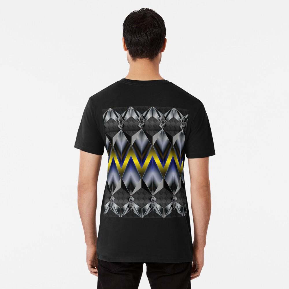 Metallight Overlord Yellow Seamless Pattern Premium T-Shirt