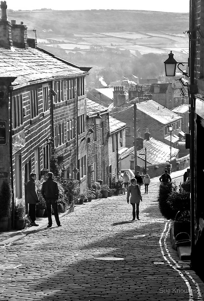 Haworth Highstreet BW by Sue Knowles