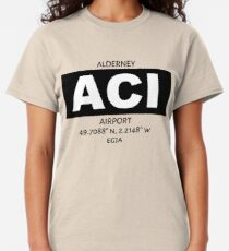 Alderney Airport ACI Classic T-Shirt