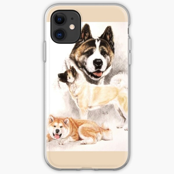 Akita Collage iPhone Soft Case