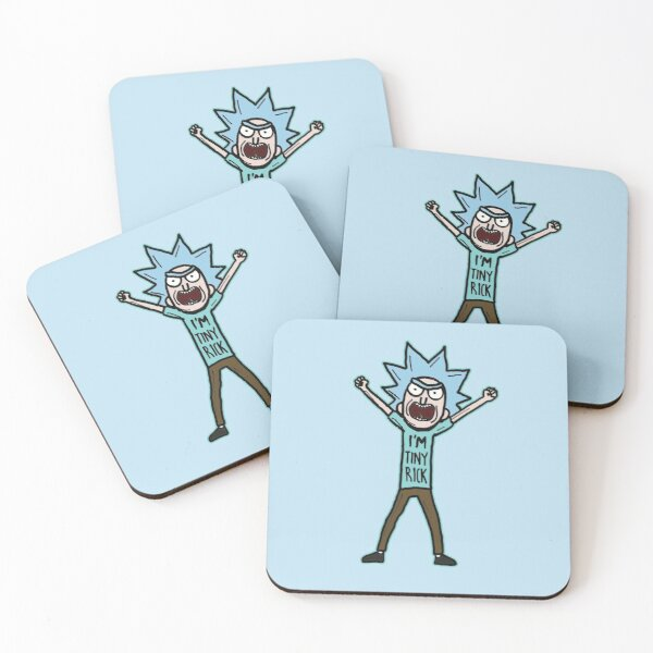 I'm Tiny Rick Quote from Rick and Morty™ Coasters (Set of 4)