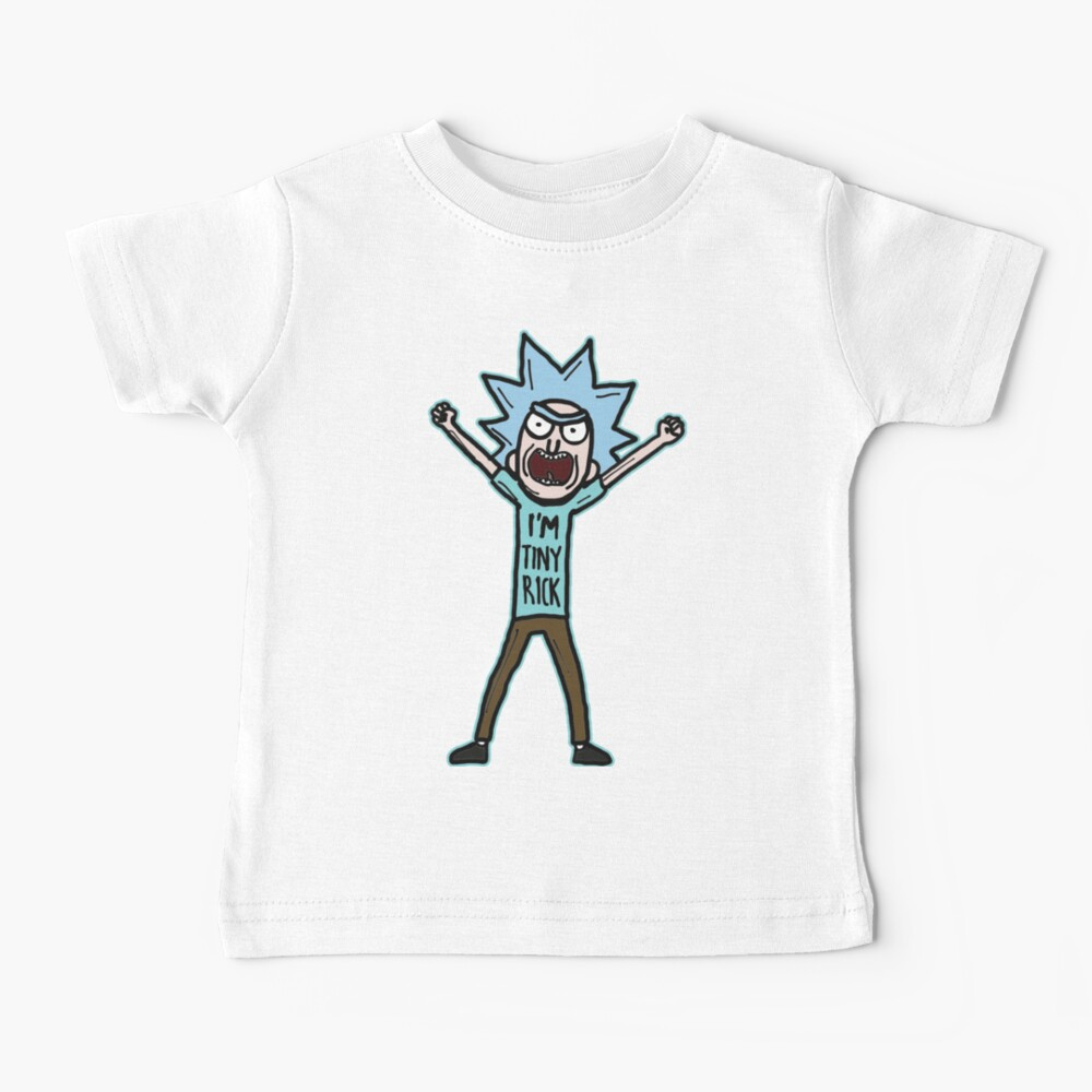 I'm Tiny Rick Quote from Rick and Morty™ Baby T-Shirt