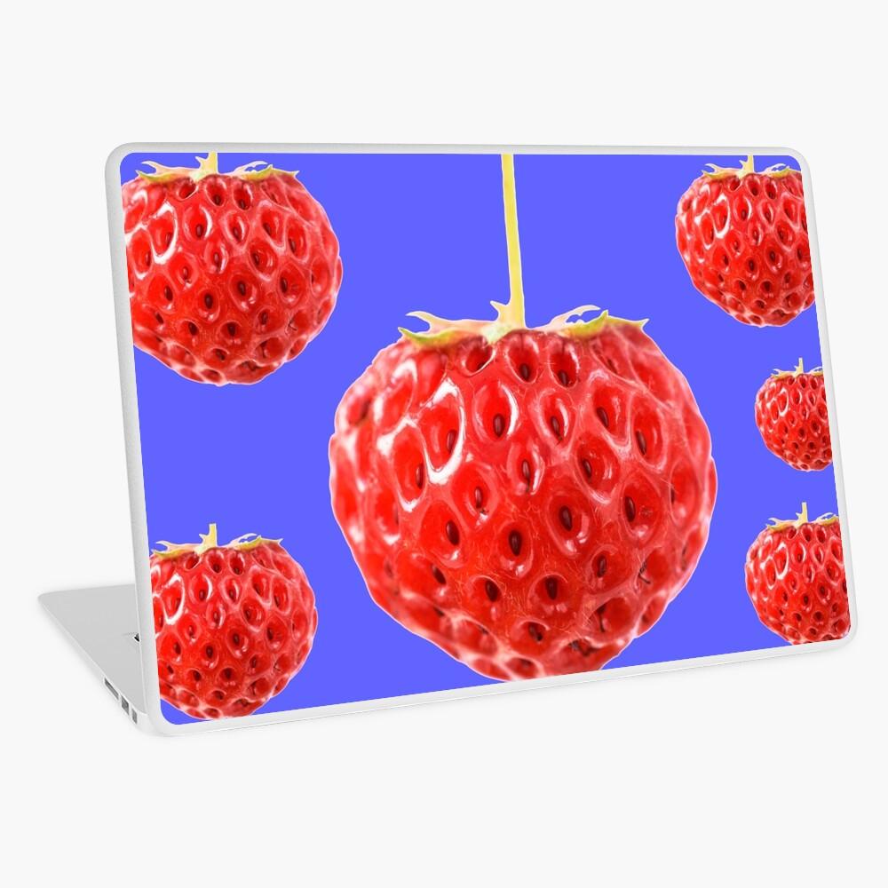 Quot Fragaria X Ananassa Framberry Strawberry Quot Laptop Skin