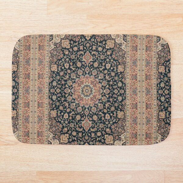 Antique Persian rug Bath Mat