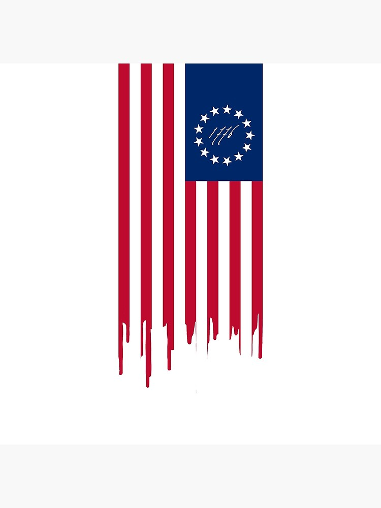 BETSY ROSS US FLAG 1776 by abstractee