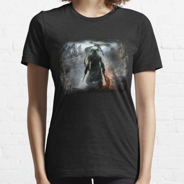 Dovahkiin Dragonborn Essential T-Shirt