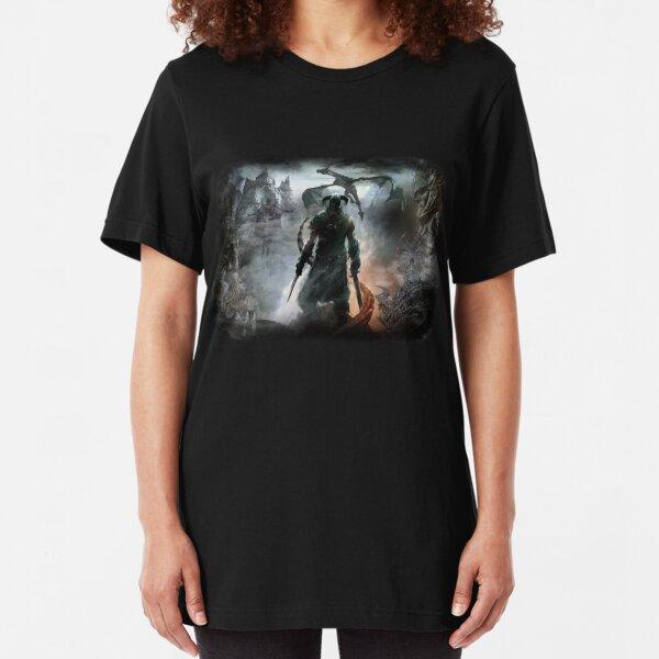 Dovahkiin Dragonborn Slim Fit T-Shirt