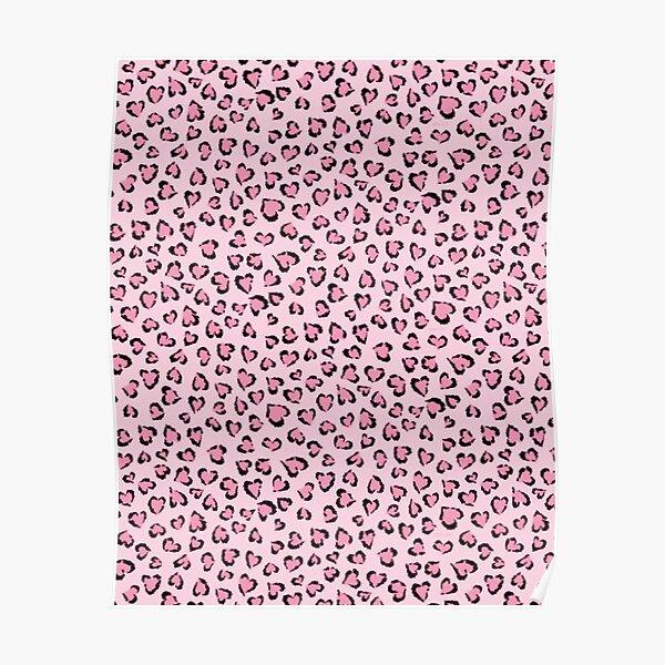 Pink Cheetah  Poster
