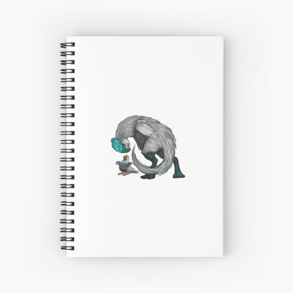 Oviraptor and Chick Spiral Notebook