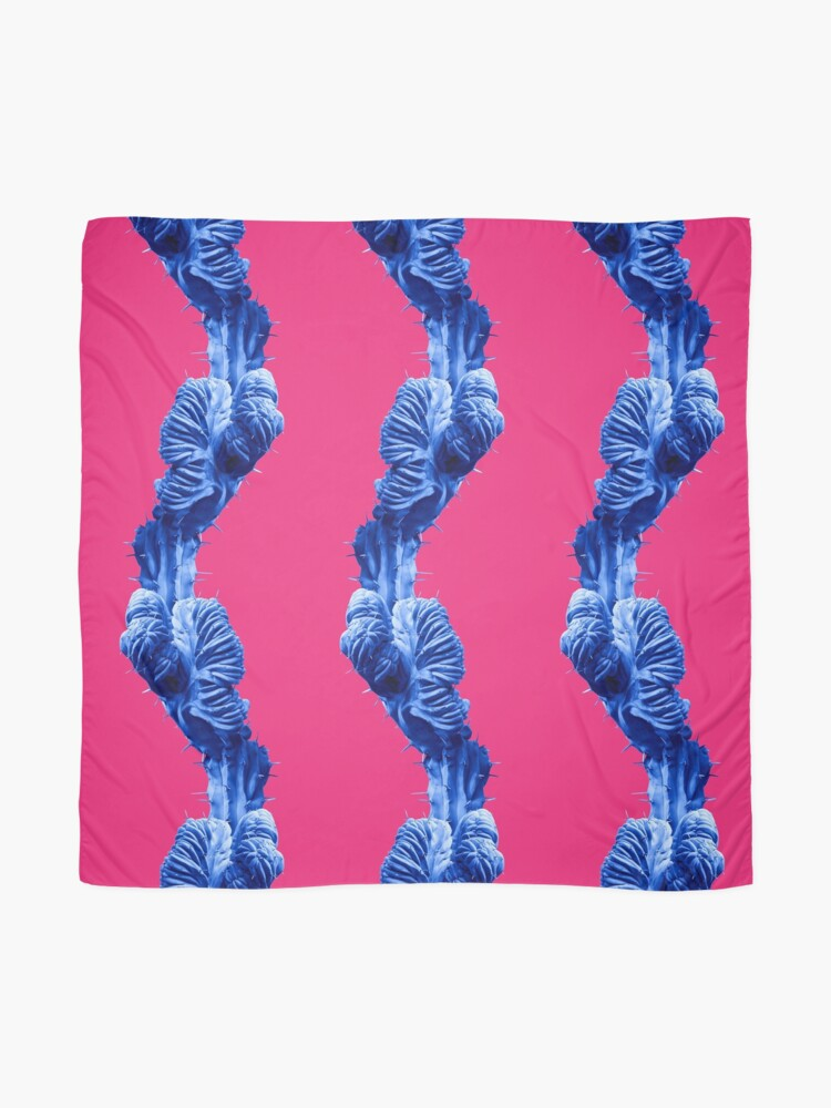 Alternate view of Funky Cactus Scarf