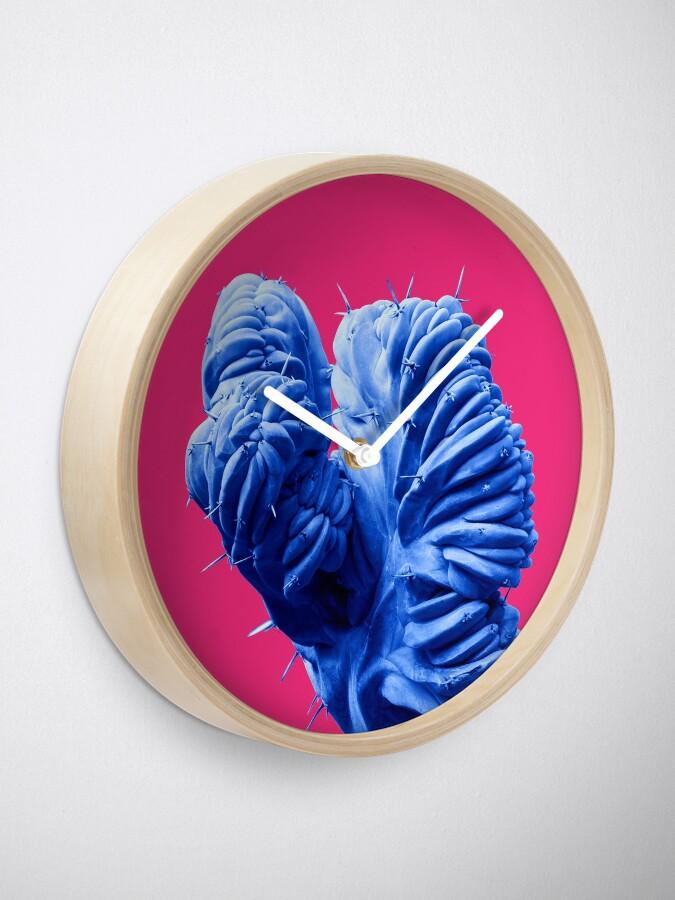 Alternate view of Funky Cactus Clock