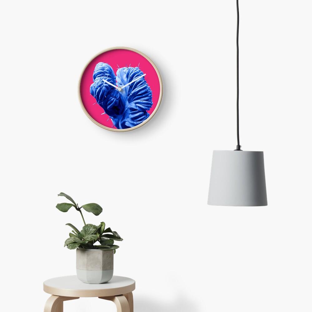 Funky Cactus Clock