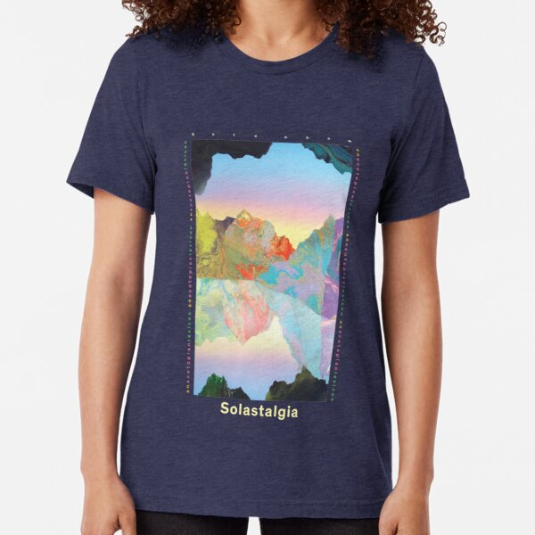 Solastalgia by Kate Shaw (Light Text) Tri-blend T-Shirt