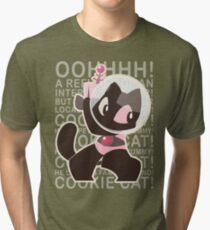 A PET FOR YOUR TUMY Tri-blend T-Shirt