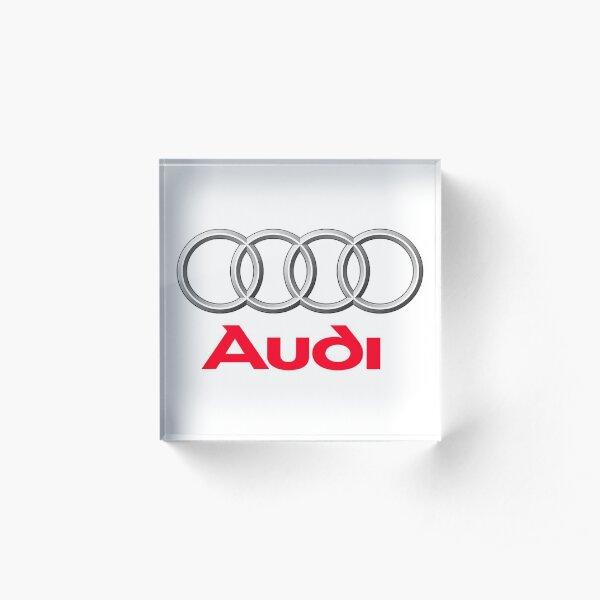 Audi TT Car Acrylic Block