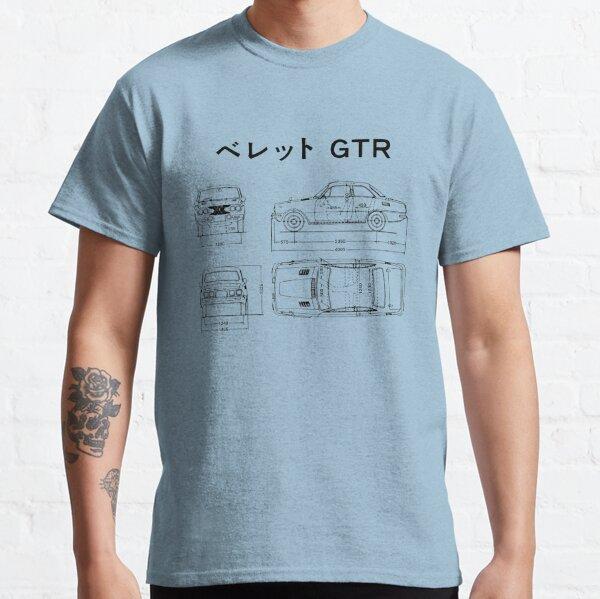 1973 Isuzu Bellett GTR Schematic Classic T-Shirt