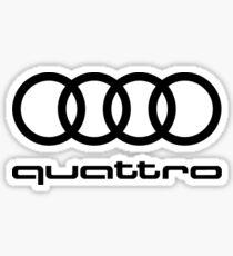 Audi Quattro Sticker
