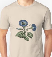 Japanese Morning Glory Unisex T-Shirt