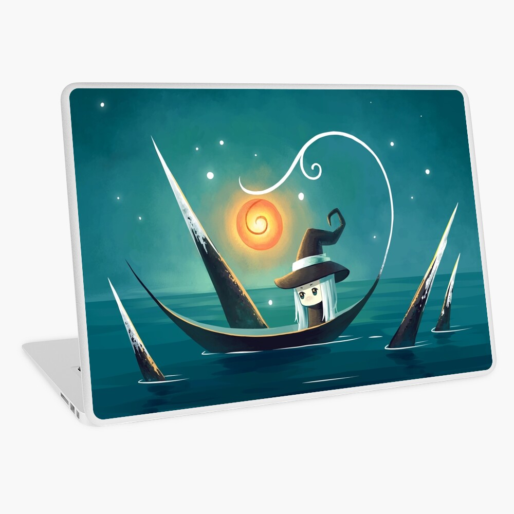 Little Witch 3 Laptop Skin