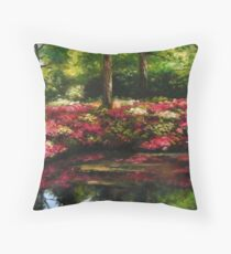 The Spring In Washington Throw Pillow
