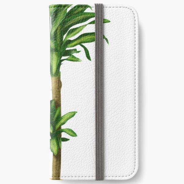 Dracaena Massangeana Plant Tropical Corn Plant iPhone Wallet