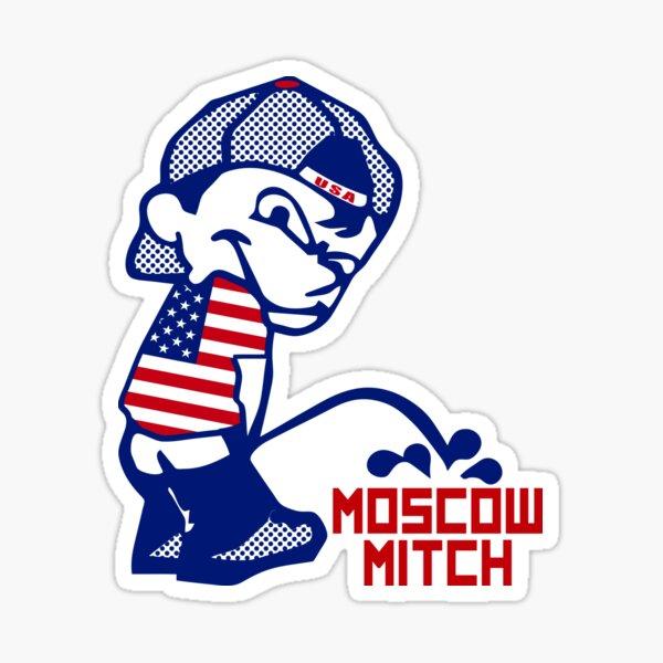 Patriot Piss On Moscow Mitch Sticker