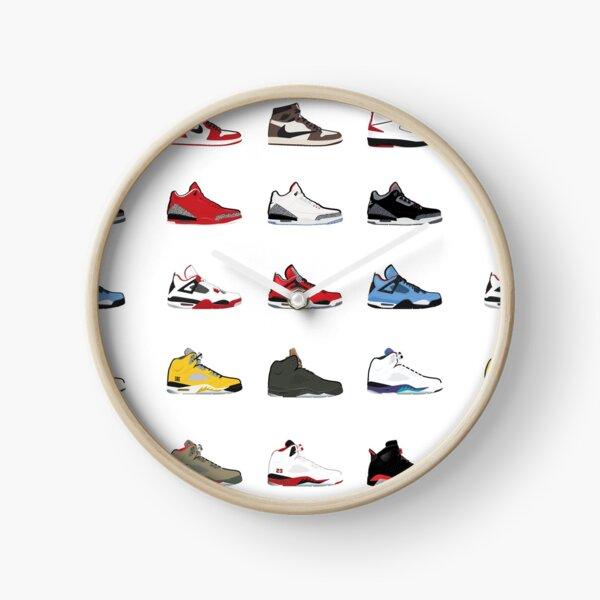 Jordan Retro Collection Clock