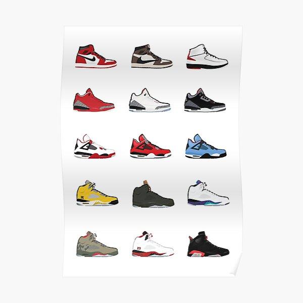 Jordan Retro Collection Poster