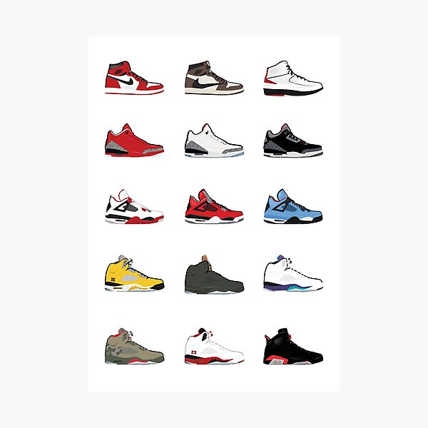 Jordan Retro Collection Impression photo