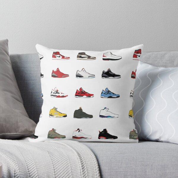 Jordan Retro Collection Throw Pillow