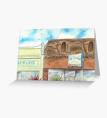 """""""Let's Do Wash"""" by Robin Galante Greeting Card"""