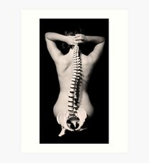 A spine on the outside Art Print