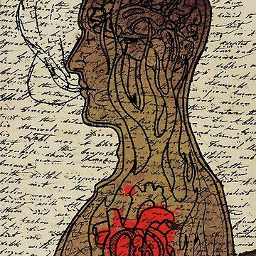 Heart Cooks Brain by BradMacDuff