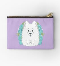 Marshall the Samoyed Zipper Pouch