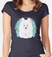 Marshall the Samoyed Fitted Scoop T-Shirt