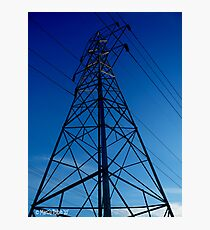 Solo Pylon Photographic Print