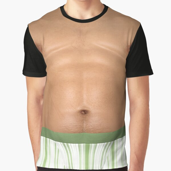 Shemale - Pull-on/Pull-off man for a day (tanned skin) Graphic T-Shirt