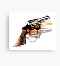 Got Yourself a Gun (Left)... Canvas Print