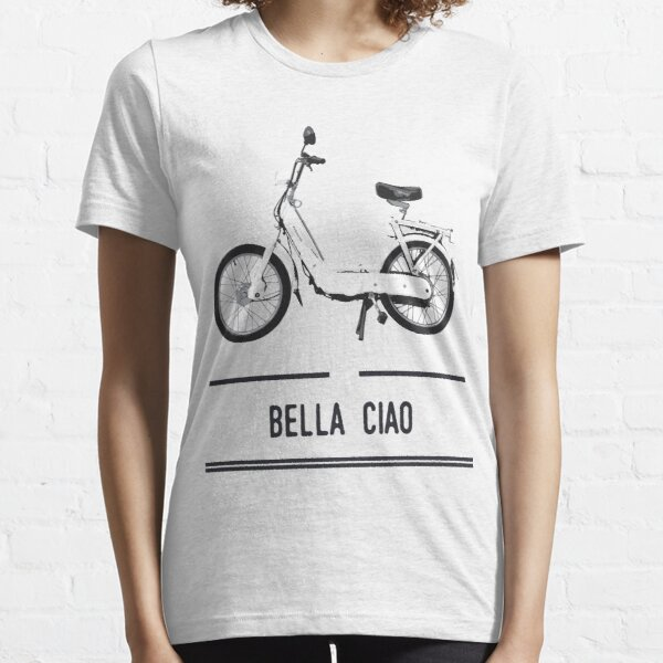Culte de la mobylette Bella Ciao T-shirt essentiel