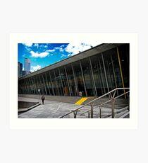 Melbourne Exhibition Centre Art Print