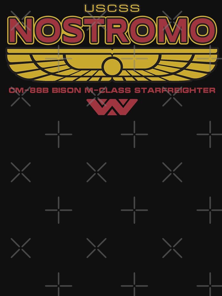 USCSS Nostromo Starfreighter | Unisex T-Shirt