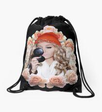 Amanda Roses Drawstring Bag